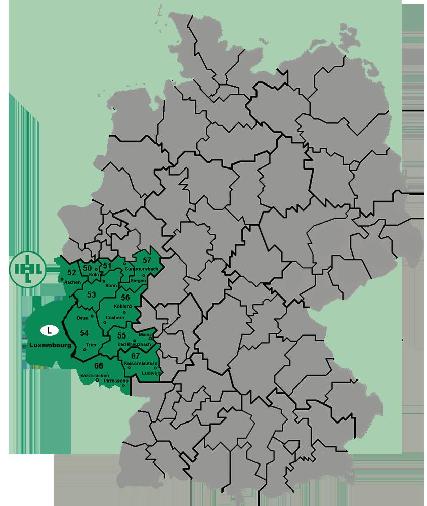 PLZ-Karte-DE